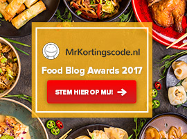 MrKortingscode's Food Blog Awards 2017