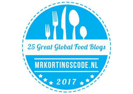 Banners for 25 Great Global Food Blogs 2017