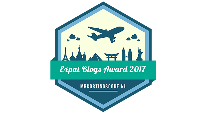 Banners for Expat Blogs Award 2017