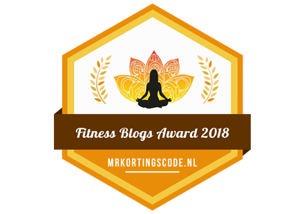 Banners voor Fitness Blogs Award 2018