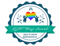 Banners voor LGBT Blogs Award 2018