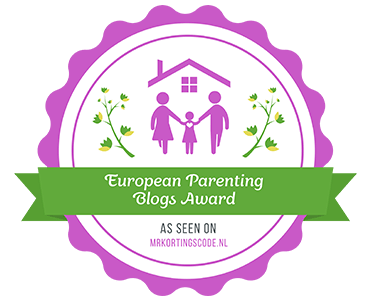 Banners for European Parenting Blogs Award