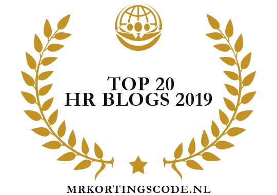 Banners for Top 20 HR Blogs 2019