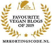Banners for Favourite Vegan Blogs of 2019