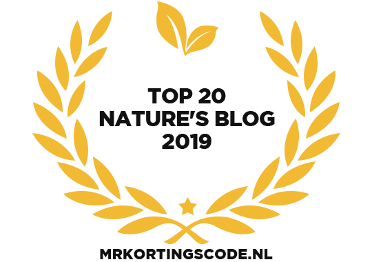 Banners for Top 20 Nature's Blog 2019