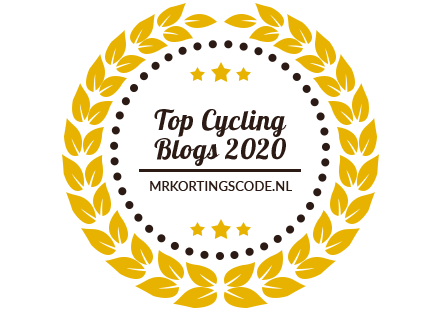 Banner for Top Cycling Blogs 2020